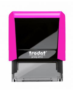 TR4913 Neon Pink Notary Stamp