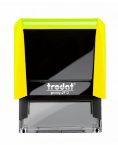 TR4913 Neon Yellow Notary Stamp