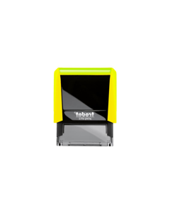 TR4913 MN Neon Yellow  Notary Stamp